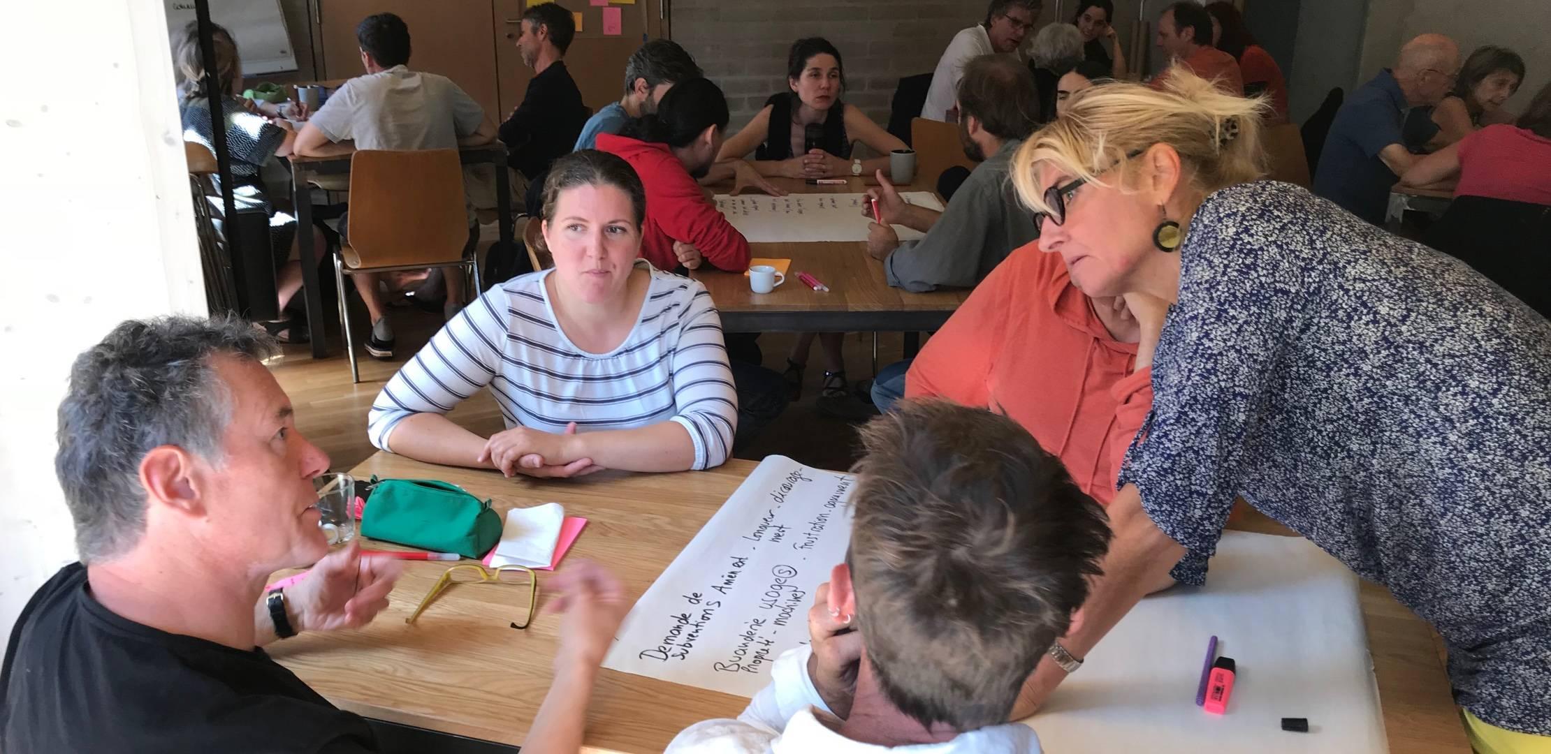 Gouvernance participative accompagnement d'un collectif d'habitants