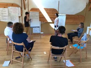 Sociocratie formation session facilitée par les participants