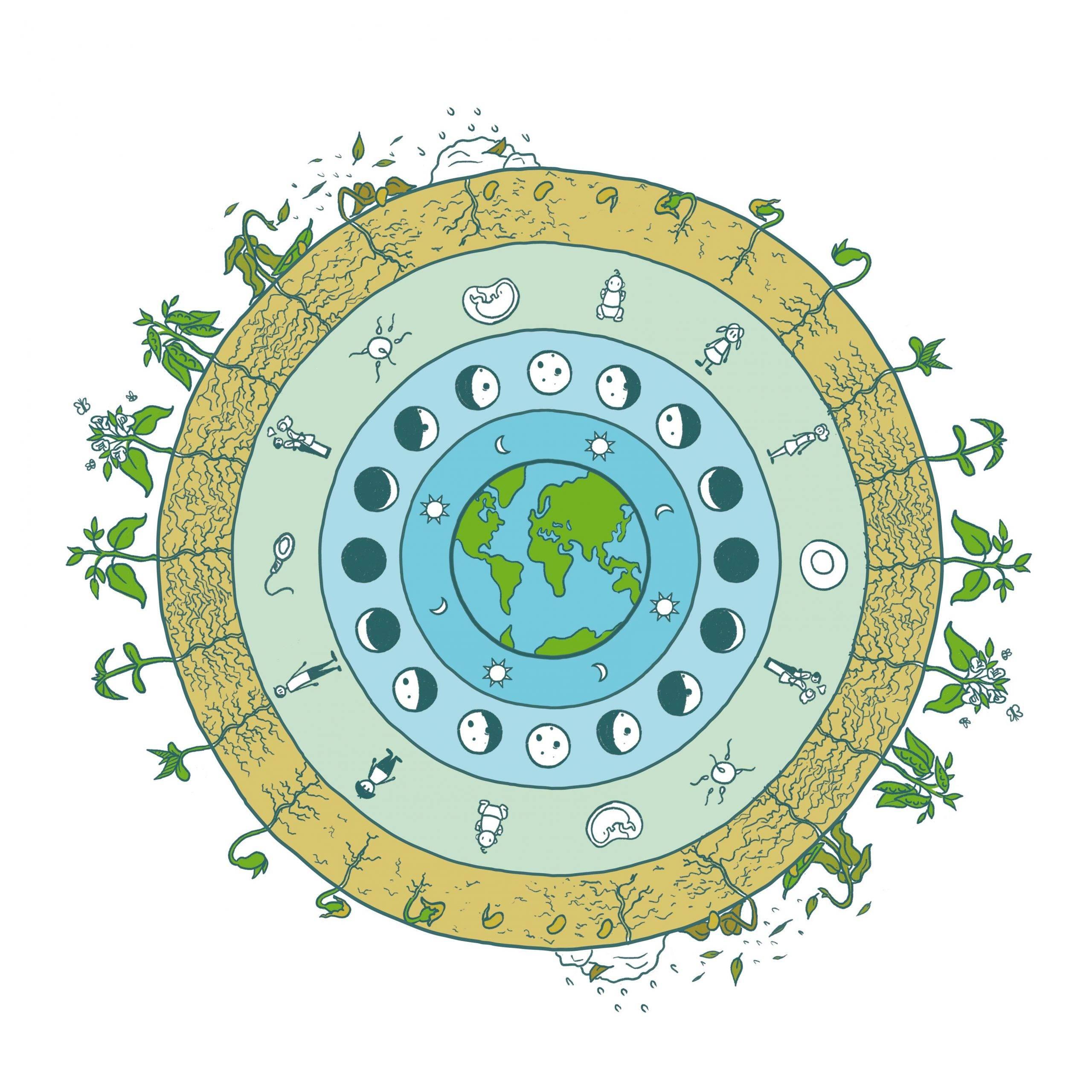 Tout tourne rond sur cette Terre